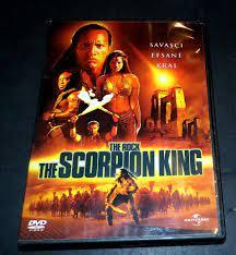 THE SCORPION KING * AKREP KRAL * DWAYNE JOHNSON * DVD Fiyatı ve Özellikleri  - GittiGidiyor
