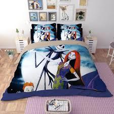 jack skellington bed sets luxury nightmare before bedding set king queen full sizer cover sheet pillowcase jack skellington bed