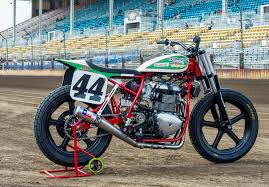 function dictates form flat track racers and the naked bike
