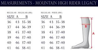 Mountain Horse Sovereign Size Chart Mountain Horse High Rider Legacy Long Leather Boots Tackshack