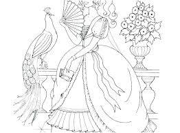 Princess Coloring Pages Colouring Book Cheer Disney Princes Moana