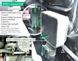 4th gen lt1 f body tech articles the low coolant sensor