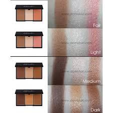 20g 372 fair 20 s faceformopenpalette makeup face form fair 378 contouring and blush palette sleek