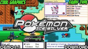 POKEMON ICE SILVER GBA OFFICIAL DEMO | ROM HACK WITH AWESOME GRAPHICS,NE...  | Gba, Pokemon, Powerful pokemon