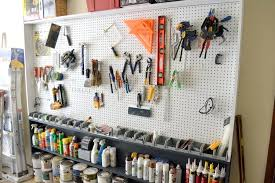 garage pegboard what you need pegboard garage wall ideas