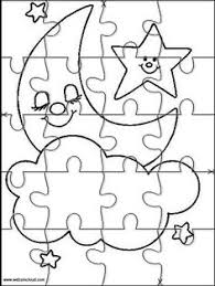 Small Picture Printable jigsaw puzzles to cut out for kids Space 37 Coloring