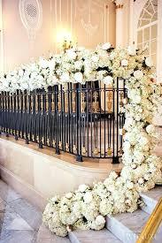 staircase decor stunning fl garland wedding staircase decor for indoor wedding under the staircase decor ideas staircase decor