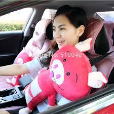seat belt pillow new car seat pets pillow cat seat belt cover child pig seat seat belt