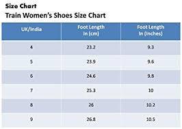 Women S Footwear Size Chart India Train Womens Acupressure Flip Flop