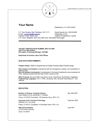 Federal Resume Writing Nardellidesign Com