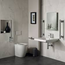 Bathroom: Ensuite Bathroom Elegant Concept Freedom Ensuite Bathroom Pack  With 40cm Basin Extended - En