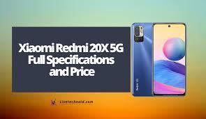 Xiaomi Redmi 20X 5G Full Specifications ...