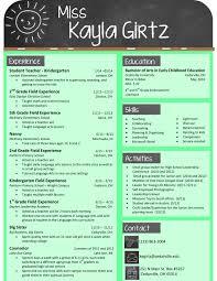 Remarkable Resume Sample Teacher Elementary In Kindergarten