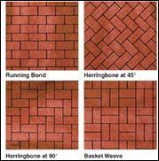 Herringbone Pattern Pavers Unique Clay Brick Pavers Patterns