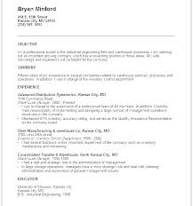 Career Objective Resume Good Objectives For Resumes Srhnf Info