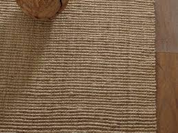 jute boucle rug flax