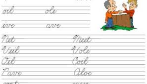 Free Printable Cursive Worksheets A Beka Font For The