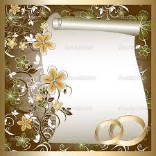 Blank Wedding Invitations Designs Blank Wedding