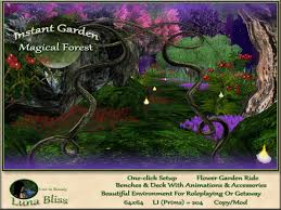 Small Picture Second Life Marketplace Instant Garden Magical Forest