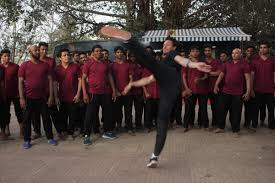 tiger shroff shows off his action skills on the sets of baaghi