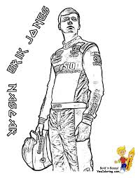 Race Car Driver Coloring Pages With Full Force Race Car Coloring