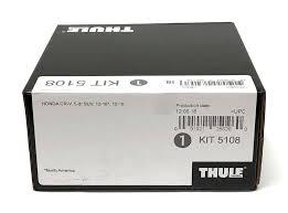 <b>Thule</b> Evo Fitting <b>Kit</b> 5108 <b>Honda</b> CRV SUV 2012-2018 No Pre ...