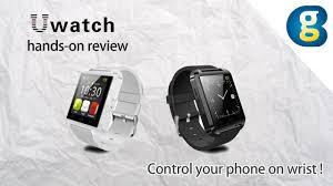Smartwatch U Watch U8 hands-on review: Control your phone on wrist - Geekbuying YouTube