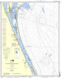 Details About Noaa Nautical Chart 11476 Cape Canaveral To Bethel Shoal