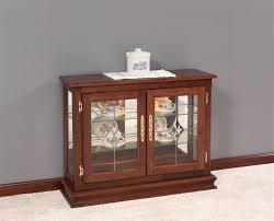 architecture magnificent small curio cabinet for white floor living room with in glass doors idea 18