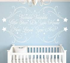personalized baby wall decor le little star personalised nursery wall sticker personalized baby girl wall decor
