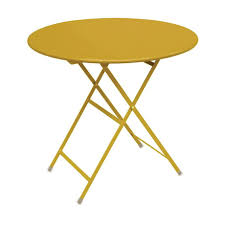 arc en ciel round folding table