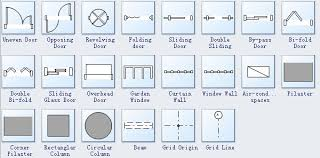 Drafting Automatic Door In Plan  Google Search  MobEx Project Architectural Floor Plan Door Symbols