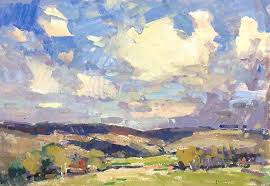 in 2018 he will exhibit in double vision at the mockingbird gallery the door county plein air festival sonoma plein air and olmsted plein air