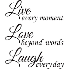Live Love Laugh Quotes Amazing Design On Style 'Live Love Laugh' Vinyl Wall Art Quote Black