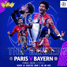Prediksi PSG vs Bayern Munchen di Final Liga Champions  in 2020 | Bayern,  Champions league, Champions league final