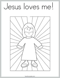 Jesus Loves Me Coloring Page Pdf Printable Coloring Page For Kids