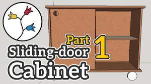 you can make a cabinet with sliding doors part 1 of 2 dyi furniture project