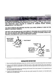 badland winch wiring instructions images badland winch solenoid winch wiring arcticchatcom arctic cat forum