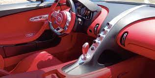 Bugatti chironunfortunately i could only film the inside movie in the sho. The Red Interior Of A Bugatti Chiron Red
