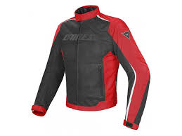 jacket dainese d dry hydra flux waterproof summer perforated black red white