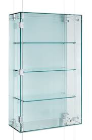 suspended glass display cabinet cmc002 with one lockable hinged door with this cabinet style the suspension cables pass through the cabinet and