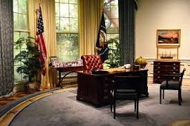 oval office decor. George Bush Presidential Library And Museum: Recreation Of H.W. Bush\u0027s Oval Office Decor 7