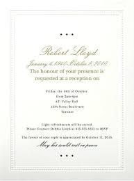 memorial service invitation memorial invitation wording best funeral reception invitations love