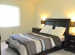 BedroomSoft Yellow White Master Bedroom Design With Facing Bed And Black Frame Also