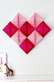 geometric honeycomb pom pom wall art