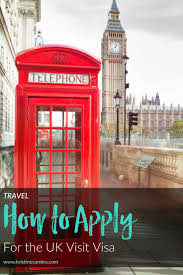 How To Apply For The Uk Visa