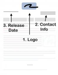 Press Release Templet Press Release Format Instructions Easy To Use Template