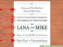 Marriage Invitation Sample Email Amazing 48 Easy Ways To Write Wedding Invitations With Pictures