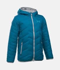 under armour kids coats. boys\u0027 coldgear® reactor hooded jacket 1 color $93.99 under armour kids coats d