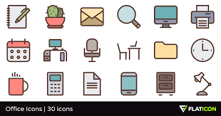 Office Icons 30 Free Icons Svg Eps Psd Png Files